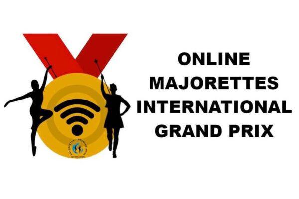 Logo Online majorettes internationa grand prix