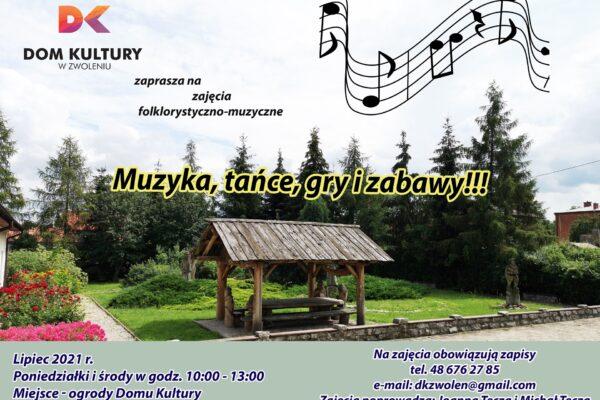 zajęcia folklorystyczno-muzyczne