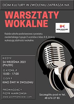 Warsztaty wokalne DK