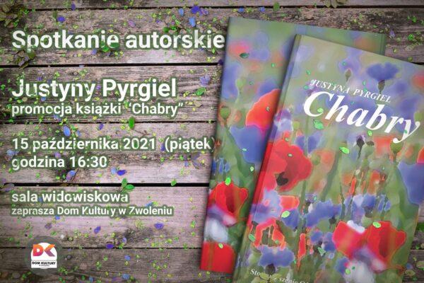 spotkanie autorskie Justyny Pyrgiel